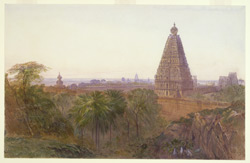 The Brihadiswaraswami Temple, Tanjore, September 1874